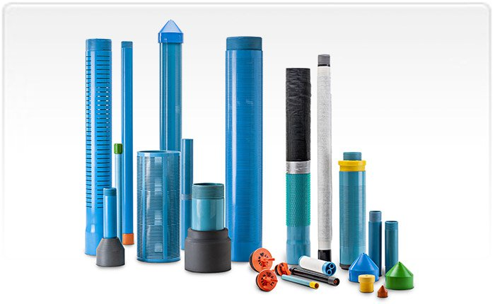 PVC Pipes for Water Wells
